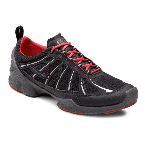 Womens Ecco USA Biom Train Core Cross Training Shoe - Black/Black 42
