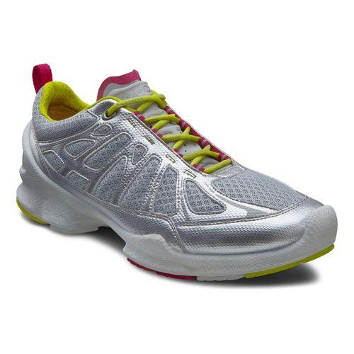 Womens Ecco USA Biom Train Core Cross Training Shoe - Silver Metallic/Concrete 41