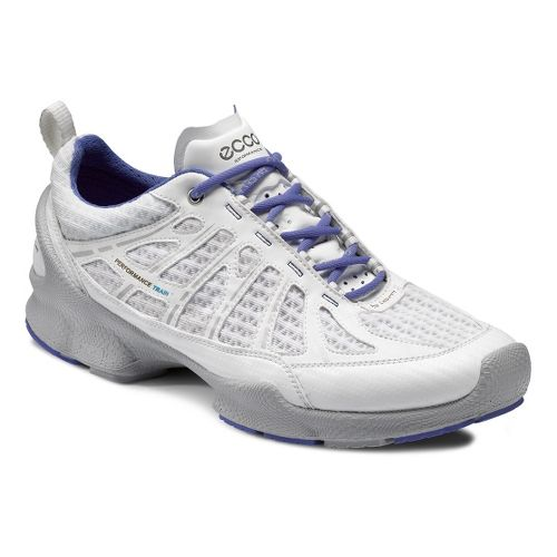 Womens Ecco USA Biom Train Core Cross Training Shoe - White/White 38