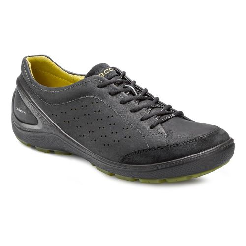 Mens Ecco USA Biom Grip 1.1 Casual Shoe - Black/Black 46