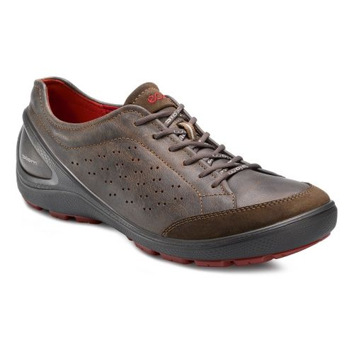 Mens Ecco USA Biom Grip 1.1 Casual Shoe - Dark Clay/Cocoa Brown 44