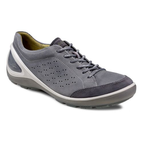 Mens Ecco USA Biom Grip 1.1 Casual Shoe - Moonless/Moonless 40