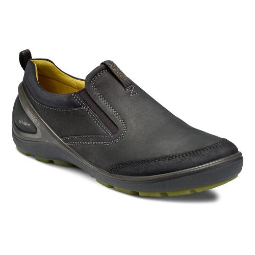 Mens Ecco USA Biom Grip-Creek Slip On Casual Shoe - Black/Black 46