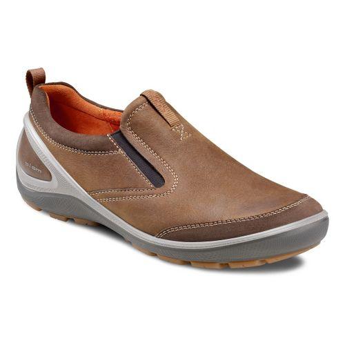 Mens Ecco USA Biom Grip-Creek Slip On Casual Shoe - Dark Clay/Camel 41