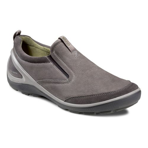 Mens Ecco USA Biom Grip-Creek Slip On Casual Shoe - Dark Shadow/Dark Shadow 40