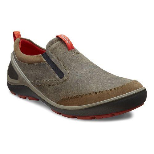 Mens Ecco USA Biom Grip-Creek Slip On Casual Shoe - Tarmac/Tarmac 45