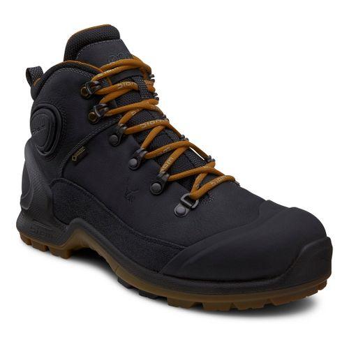 Mens Ecco USA Biom Terrain-AKKA Mid Plus GTX Hiking Shoe - Black/Black 45