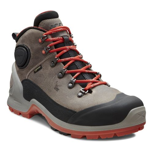 Mens Ecco USA Biom Terrain-AKKA Mid Plus GTX Hiking Shoe - Black/Moonrock 41