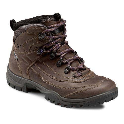 Womens Ecco USA Xpedition III-Torre Semi Mid GTX Hiking Shoe - Espresso 37