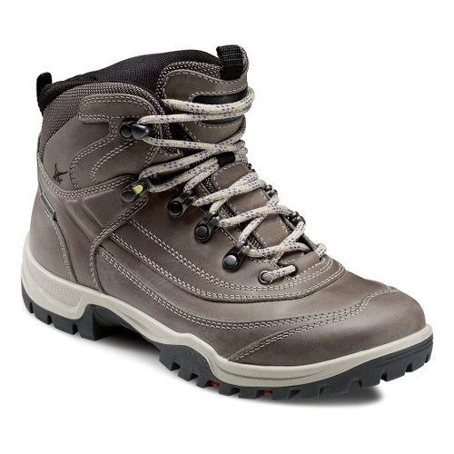 Womens Ecco USA Xpedition III-Torre Semi Mid GTX Hiking Shoe - Moon rock 38