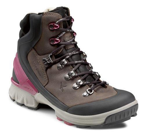 Womens Ecco USA Biom Hike 1.1 Hydromax Hiking Shoe - Black/Coffee 37