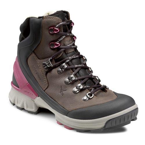 Womens Ecco USA Biom Hike 1.1 Hydromax Hiking Shoe - Black/Coffee 39