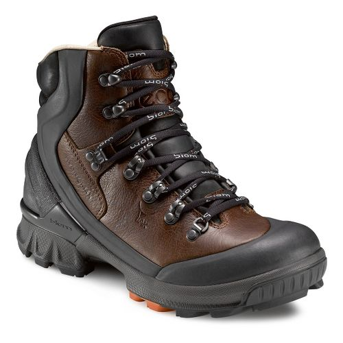 Mens Ecco USA Biom Hike 1.1 HM Hiking Shoe - Black/Cocoa Brown 46