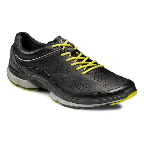 Mens Ecco USA Biom EVO Trainer Plus Running Shoe - Black/Black 44