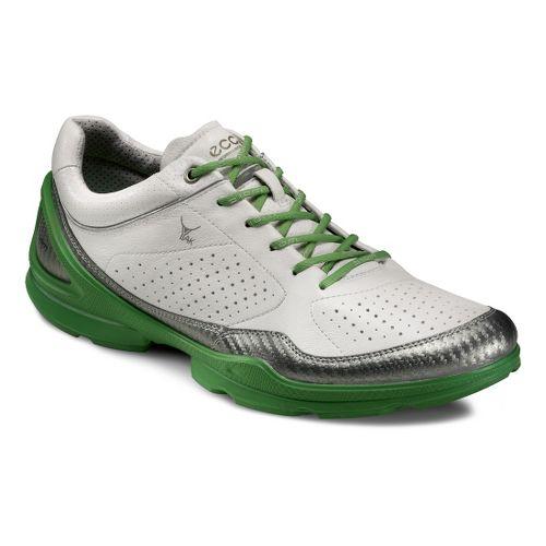 Mens Ecco USA Biom EVO Racer Plus Running Shoe - Buffed Silver/White 47