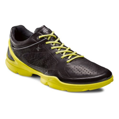 Mens Ecco USA Biom EVO Racer Plus Running Shoe - Black/Black 46