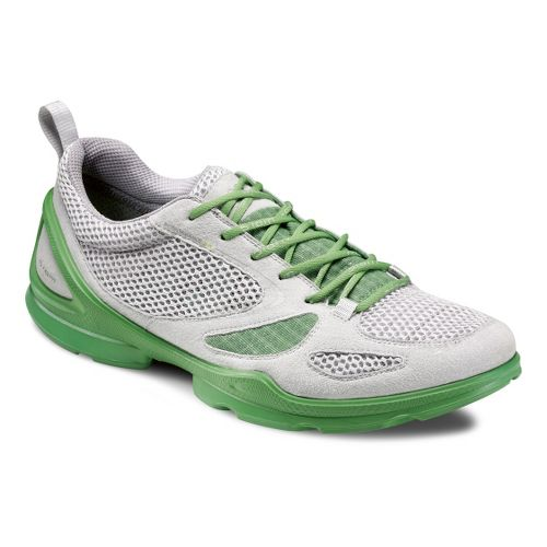 Mens Ecco USA Biom EVO Racer Lite Running Shoe - Concrete/Silver Metallic 43