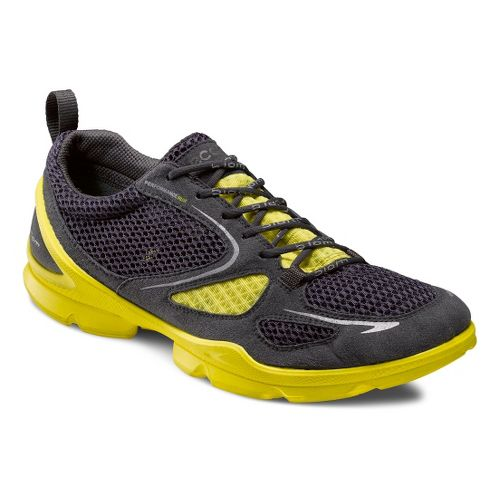 Mens Ecco USA Biom EVO Racer Lite Running Shoe - Dark Shadow/Dark Shadow 40