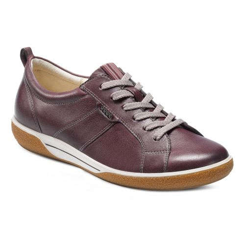 Womens Ecco USA Chase Tie Casual Shoe - Bordeaux 36