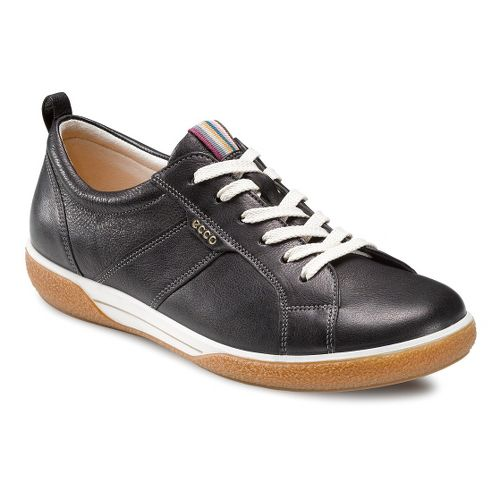Womens Ecco USA Chase Tie Casual Shoe - Black 41