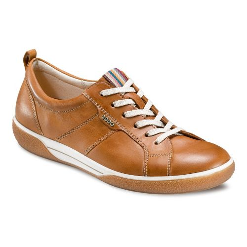 Womens Ecco USA Chase Tie Casual Shoe - Lion 36