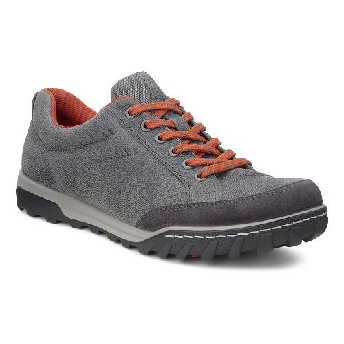 Mens Ecco USA Urban Lifestyle-Vermont Casual Shoe - Moonless/Dark Shadow 48