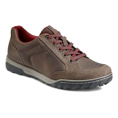 Mens Ecco Urban Lifestyle-Vermont Casual Shoe - Espresso/Coffee 46