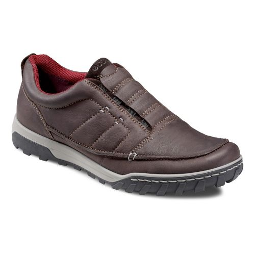 Mens Ecco USA Urban Lifestyle-Vermont Casual Shoe - Espresso/Licorice 43
