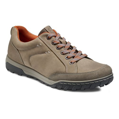 Mens Ecco USA Urban Lifestyle-Vermont Casual Shoe - Warm Grey/Warm Grey 43
