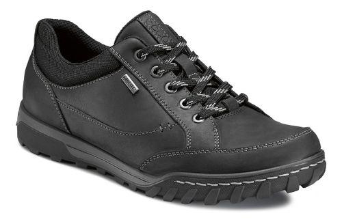 Mens Ecco USA Urban Lifestyle-Goran GTX Casual Shoe - Black/Black 41