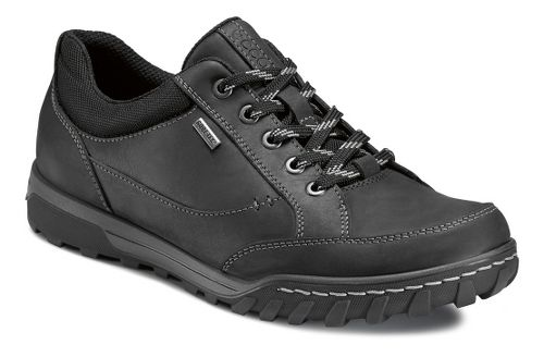 Mens Ecco USA Urban Lifestyle-Goran GTX Casual Shoe - Black/Black 46
