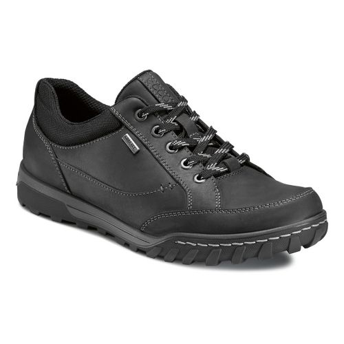 Mens Ecco USA Urban Lifestyle-Goran GTX Casual Shoe - Black/Black 42