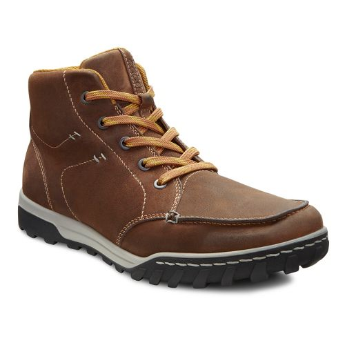 Mens Ecco USA Urban Lifestye-Brooklyn Casual Shoe - Camel 43