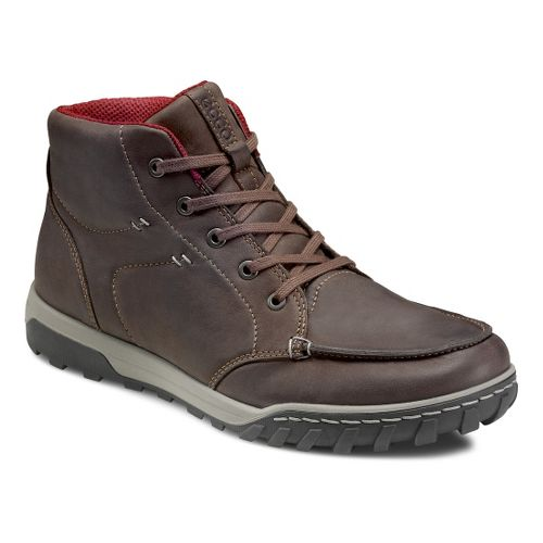 Mens Ecco USA Urban Lifestye-Brooklyn Casual Shoe - Espresso 40