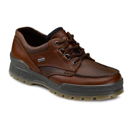 Mens Ecco Track II GTX Lo Hiking Shoe - Bison/Bison 46
