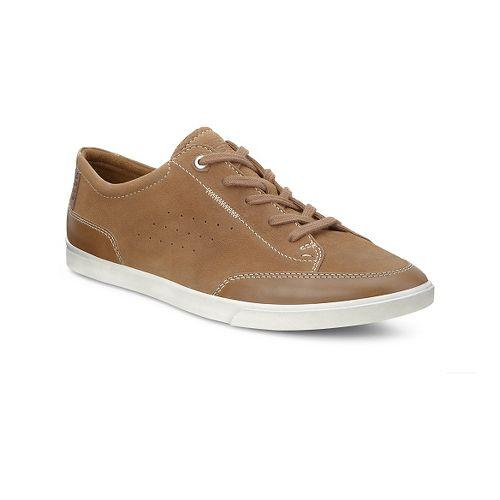 Mens Ecco USA Collin Tie Casual Shoe - Camel/Camel 47