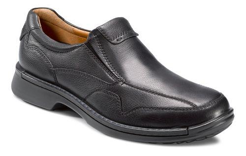 Mens Ecco USA Fusion Casual Slip On Casual Shoe - Black 39