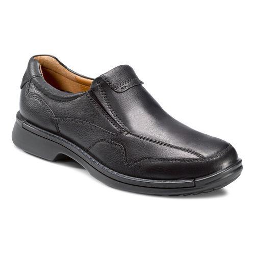 Mens Ecco USA Fusion Casual Slip On Casual Shoe - Black 44