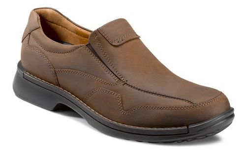 Mens Ecco USA Fusion Casual Slip On Casual Shoe - Cocoa Brown 41
