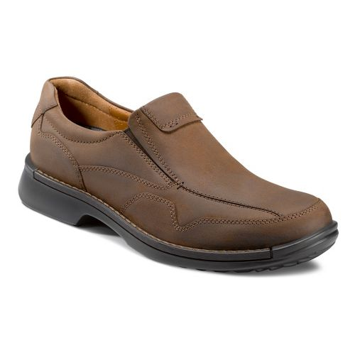 Mens Ecco USA Fusion Casual Slip On Casual Shoe - Cocoa Brown 45