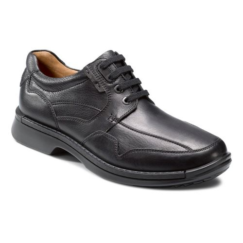 Mens Ecco USA Fusion Casual Tie Casual Shoe - Black 43