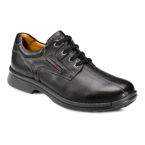 Mens Ecco USA Fusion Bicycle Toe Tie Casual Shoe - Black 40