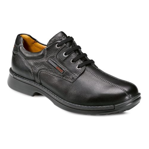 Mens Ecco USA Fusion Bicycle Toe Tie Casual Shoe - Black 42