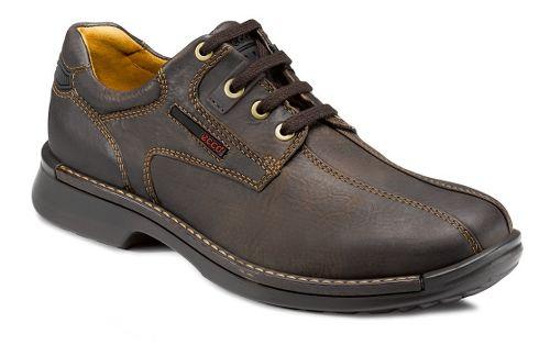 Mens Ecco USA Fusion Bicycle Toe Tie Casual Shoe - Coffee 44