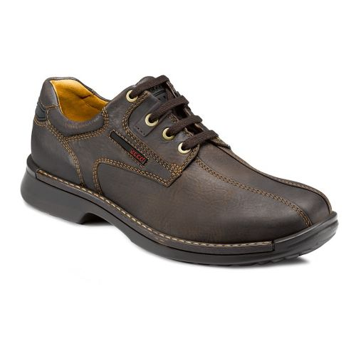 Mens Ecco USA Fusion Bicycle Toe Tie Casual Shoe - Coffee 41