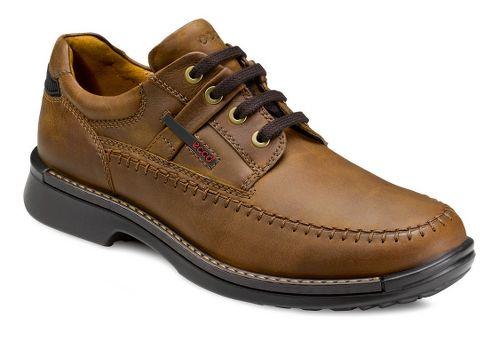 Mens Ecco USA Fusion Moc Toe Tie Casual Shoe - Mineral 41