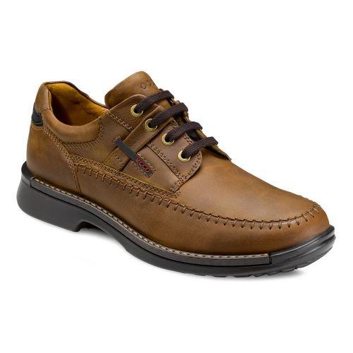 Mens Ecco USA Fusion Moc Toe Tie Casual Shoe - Mineral 40
