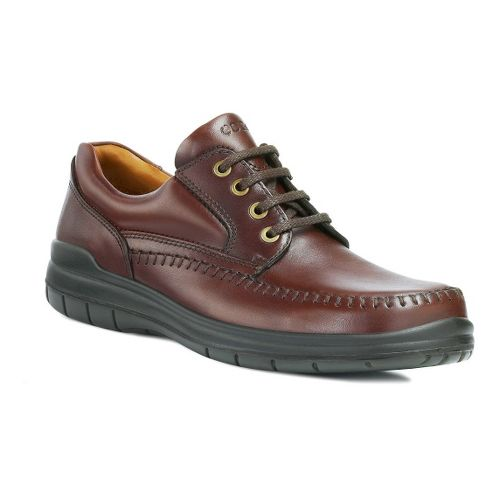 Mens Ecco USA Seawalker Casual Shoe - Rust 47