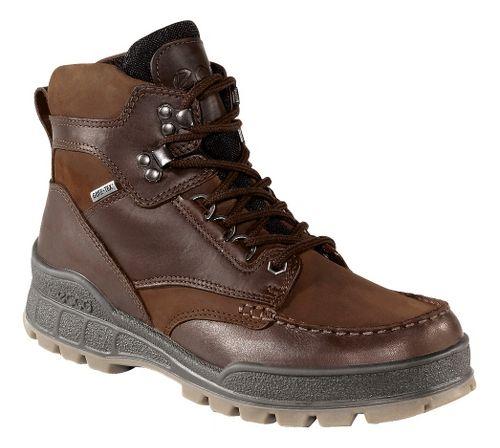 Mens Ecco USA Track II GTX Hi Casual Shoe - Bison/Bison 46