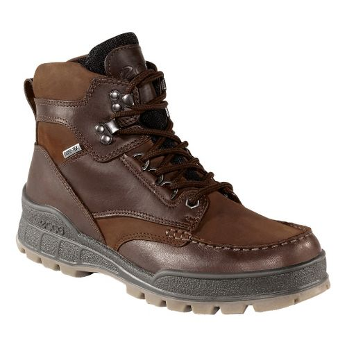 Mens Ecco USA Track II GTX Hi Casual Shoe - Bison/Bison 43